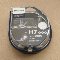 PHILIPS H7 12V 55W Racing vision GT200. 12972RGT