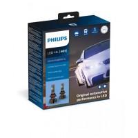 H11 LED LEMPŲ KOMPLEKTAS PHILIPS+250% 12V-24V 5800K.