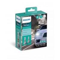 HB3/HB4 LED LEMPŲ KOMPLEKTAS PHILIPS+160% 12V 5800K.