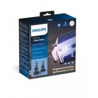 HB3/HB4 LED LEMPŲ KOMPLEKTAS PHILIPS+250% 12V 5800K.